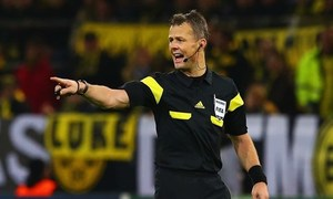 Temporada 13/14. Björn Kuipers, arbitro de la final de la UEFA Champions League