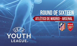Atlético de Madrid-Arsenal, the match of round of sexteen in the Youth League