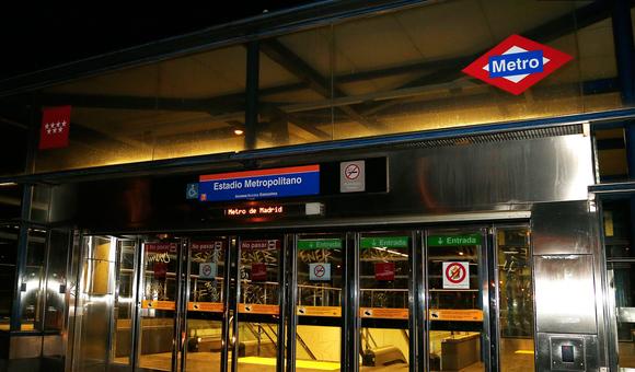 Image result for Wanda Metropolitano metro