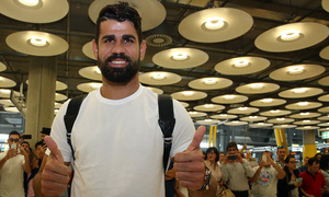 Temporada 2017-18. Llegada Diego Costa Madrid