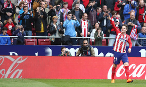 Jornada 24 | Atleti - Athletic | Gameiro dedo en alto