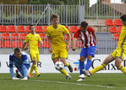 Temporada 2016-2017. Atlético de Madrid Juvenil vs Rostov -  Partido de Youth League. 01_11_2016. Gol de Giovanni 2.