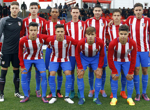 Temp. 2016-2017. Youth League: Atlético de Madrid - PSV