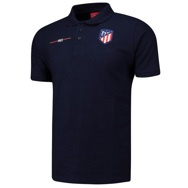 Crest Polo Shirt - Navy - Mens