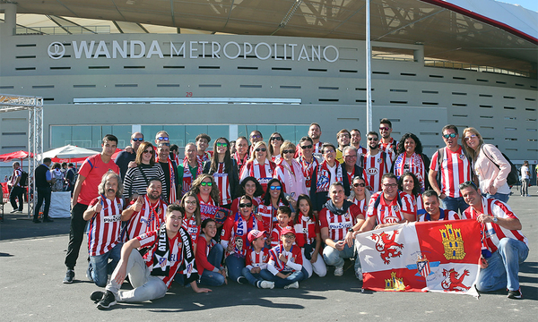 This is how we lived a superb Supporters' Clubs Day at Wanda Metropolitano