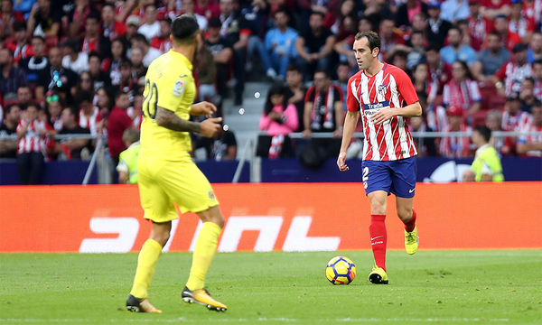 Godín became the foreign-born player with the most appearances for Atleti