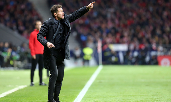 "Simeone: ""The first 30 minutes were very good"