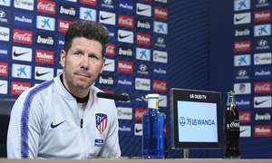 ATM Flash | Simeone spoke about the #GironaAtleti game following Tuesday's training session