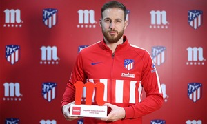 Jan Oblak wins #JugadorCincoEstrellas award for January