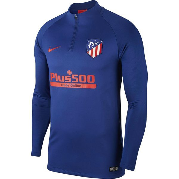 Atlético de Madrid Dri-Fit Strike Drill Top - Royal Blue