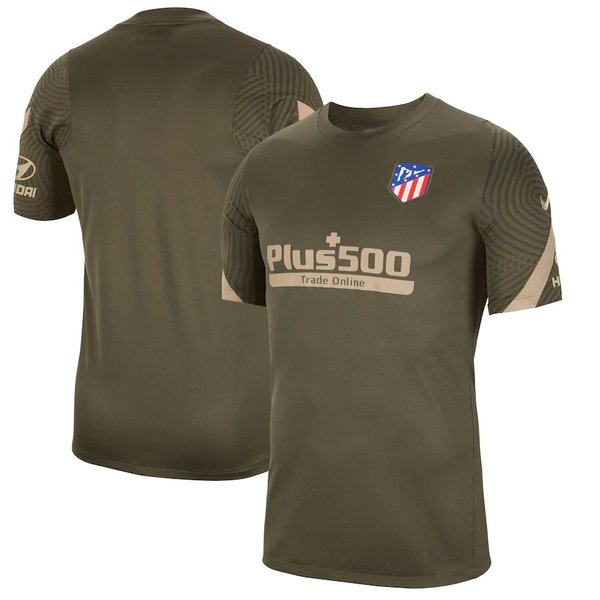 Atlético de Madrid Strike TrainingT-Shirt - Khaki
