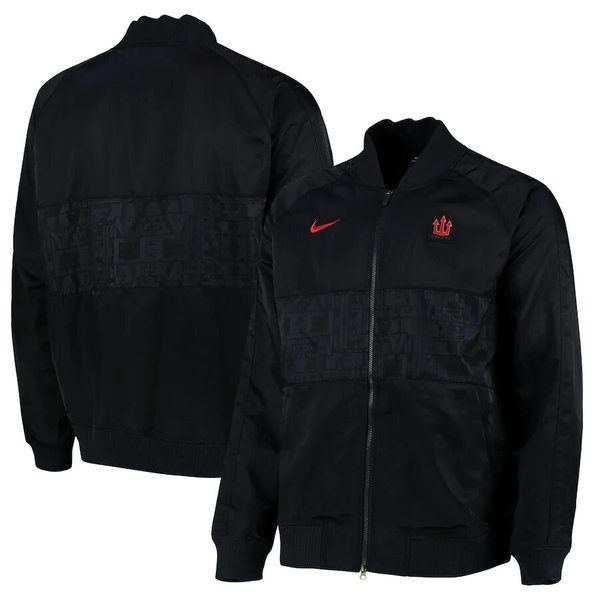 Atlético de Madrid Satin I96 Track Jacket - Dark Navy